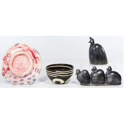 View 5: Pottery and Stone Assortment