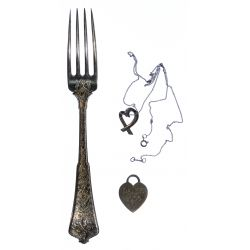 View 3: Sterling Silver Hollowware, Flatware and Jewelry Assortment