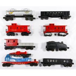 View 4: Lionel Model Train Assortment