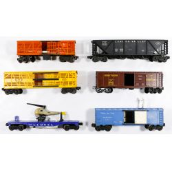 View 3: Lionel Model Train Assortment