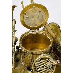 View 6: Musical Instrument Bronze Ink Well