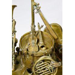 View 5: Musical Instrument Bronze Ink Well