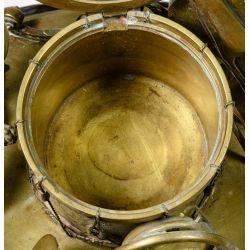 View 7: Musical Instrument Bronze Ink Well