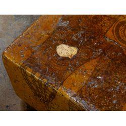 View 4: Figural-form Fiberglass Bench