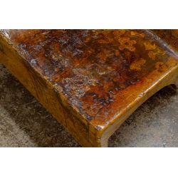 View 3: Figural-form Fiberglass Bench