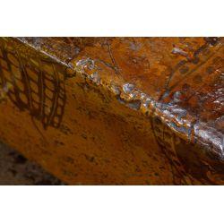 View 5: Figural-form Fiberglass Bench