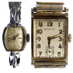 View 2: 14k Gold Case Wrist Watches