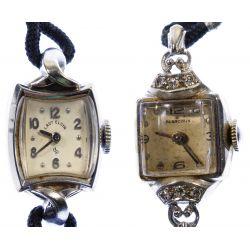 View 2: 14k White Gold Case Wrist Watches
