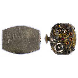 View 3: Longines 14k White Gold and Diamond Case Wrist Watch
