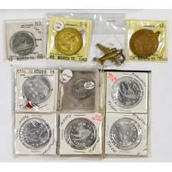 View 3: Token and Medal Assortment