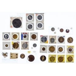View 10: Token and Medal Assortment