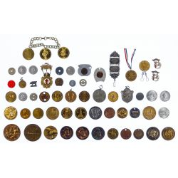 View 8: Token and Medal Assortment
