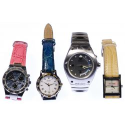 View 2: Wrist Watch and Jewelry Assortment