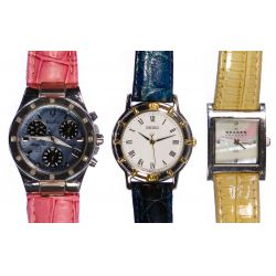 View 3: Wrist Watch and Jewelry Assortment
