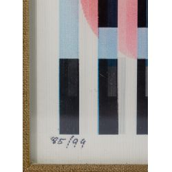 "View 5: Yaacov Agam (Israeli, b.1928) ""Agamograph"" Kinetic Art"