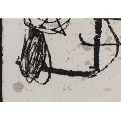 "View 5: Joan Miro (Spanish, 1893-1983) ""Le Courtesan Grotesque"" Aquatint"