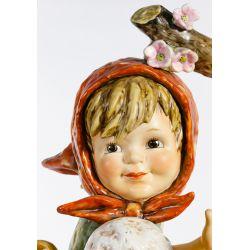 "View 6: Hummel #141 / X ""Apple Tree Girl"" Jumbo Figurine"