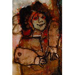 View 4: Theo Tobiasse (Israeli, 1927-2012) Oil on Canvas