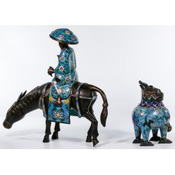 View 2: Chinese Cloisonne Figurines