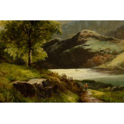 View 2: Thomas Stanley Barber (British, fl.1891-1899) Oil on Canvas