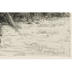 View 5: Henri Farre (American / French, 1871-1934) Etching