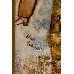 View 5: Theo Tobiasse (Israeli, 1927-2012) Oil on Canvas