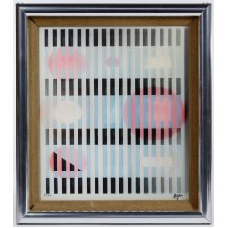 "View 2: Yaacov Agam (Israeli, b.1928) ""Agamograph"" Kinetic Art"