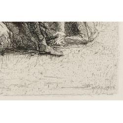 View 3: Henri Farre (American / French, 1871-1934) Etching