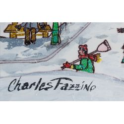 View 3: Charles Fazzino (American, b.1955) Acrylic on Paper