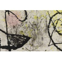 "View 3: Joan Miro (Spanish, 1893-1983) ""Le Courtesan Grotesque"" Aquatint"
