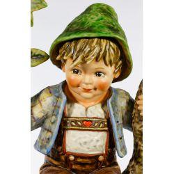 "View 5: Hummel #142 / X ""Apple Tree Boy"" Jumbo Figurine"