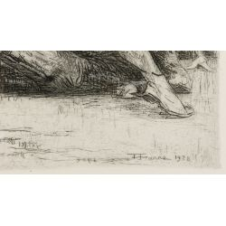 View 3: Henri Farre (American / French, 1871-1934) Etching