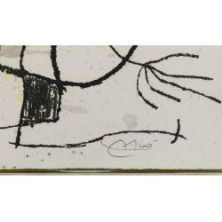 "View 4: Joan Miro (Spanish, 1893-1983) ""Le Courtesan Grotesque"" Aquatint"