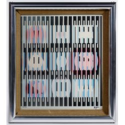"View 3: Yaacov Agam (Israeli, b.1928) ""Agamograph"" Kinetic Art"