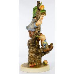 "View 4: Hummel #142 / X ""Apple Tree Boy"" Jumbo Figurine"
