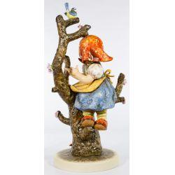 "View 3: Hummel #141 / X ""Apple Tree Girl"" Jumbo Figurine"