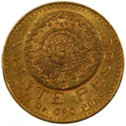 View 2: Mexico: 1918 20 Pesos Gold