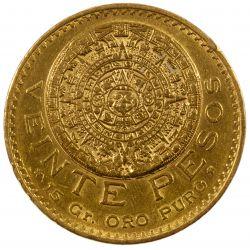 View 2: Mexico: 1918 20 Pesos Gold