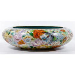 View 2: Asian Cloisonne Bowl