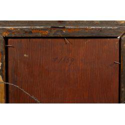 View 13: Unknown Artist (European, 19th Century) Oil on Board