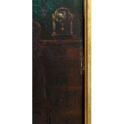 View 6: Unknown Artist (European, 19th Century) Oil on Board