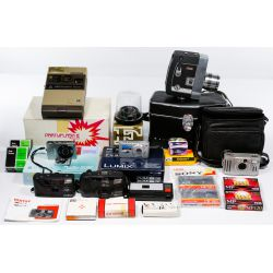 View 2: Digital, 35mm and Movie Camera Assortment