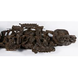 View 4: Asian Wood Carved Sceptre
