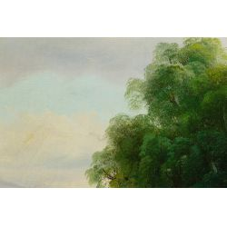 View 3: Paul Wesley (American, 19th / 20th century) Oil on Canvas