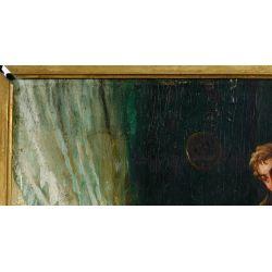 View 7: Unknown Artist (European, 19th Century) Oil on Board