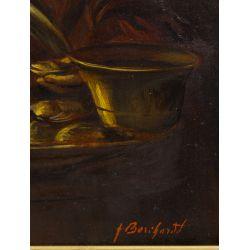 View 4: Unknown Artist (Dutch, 19th Century) Oil on Board