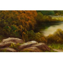 View 2: Paul Wesley (American, 19th / 20th century) Oil on Canvas