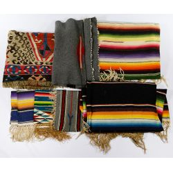 View 3: Southwestern Rug, Blanket and Textile Assortment
