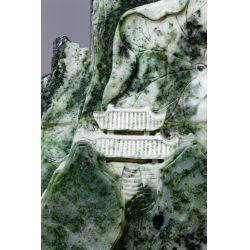 View 7: Chinese Carved Jadeite Jade Intricate Sculpture