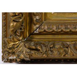 View 9: Unknown Artist (European, 19th Century) Oil on Board